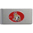 Ottawa Senators® Brushed Metal Money Clip